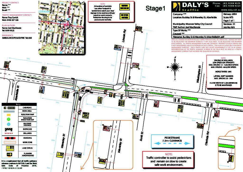 Plans & Permits – Dalys Traffic